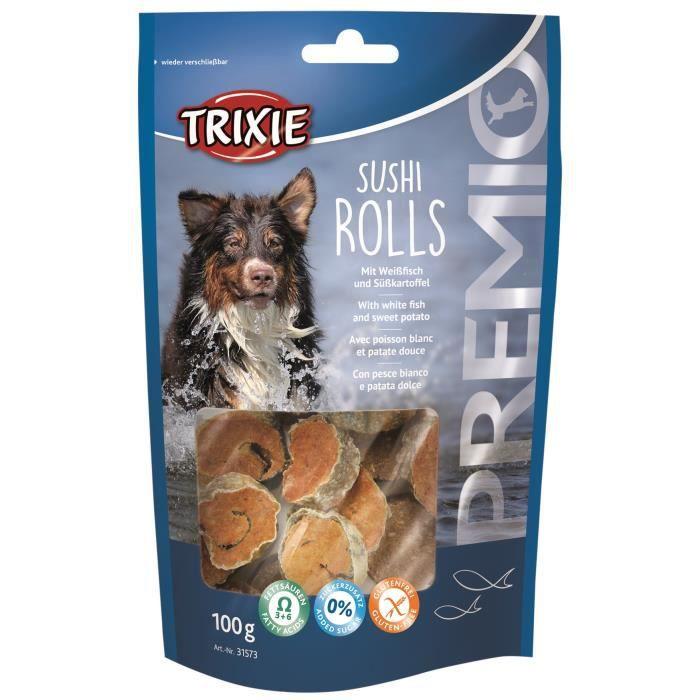 TRIXIE Sushi Rolls Premio - Pour chien - 100g