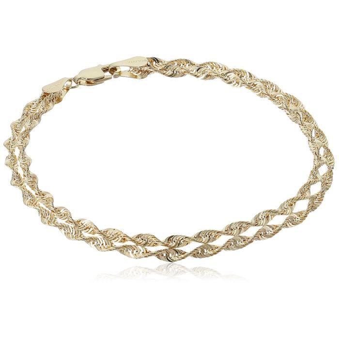 Craze 14k Two-row Rope Bracelet EE0II