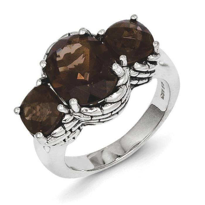 Quartz fumé-Taille L 1/2–JewelryWeb