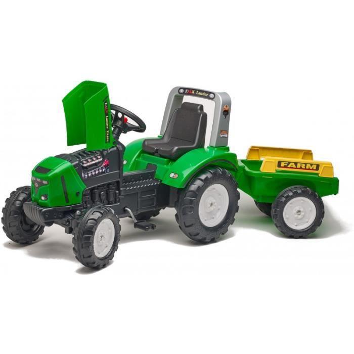 Tracteur a pedale 3 ans achat vente jeux et jouets pas chers - Tracteur remorque enfant ...