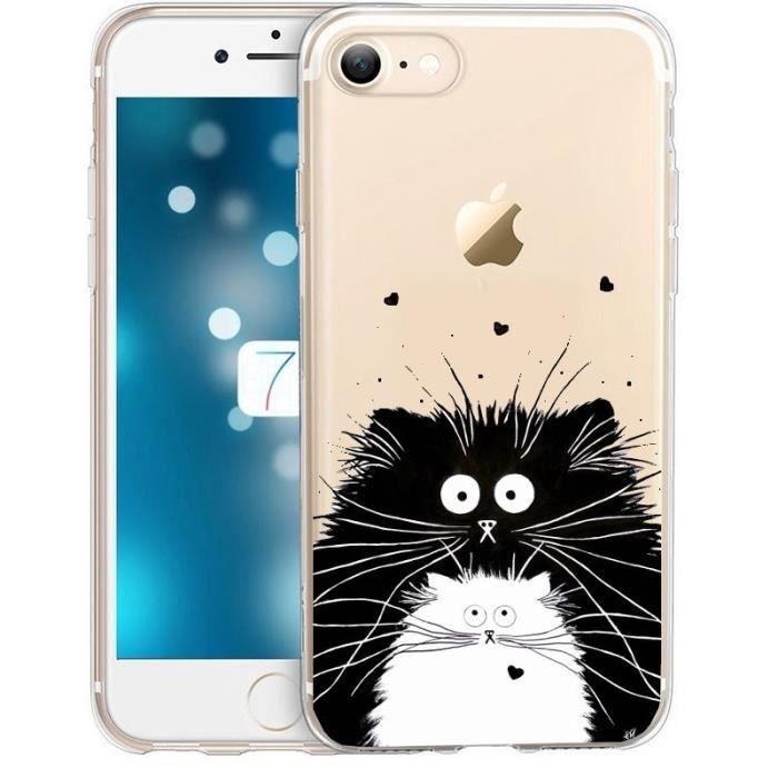 coque iphone 7 transparent coeur