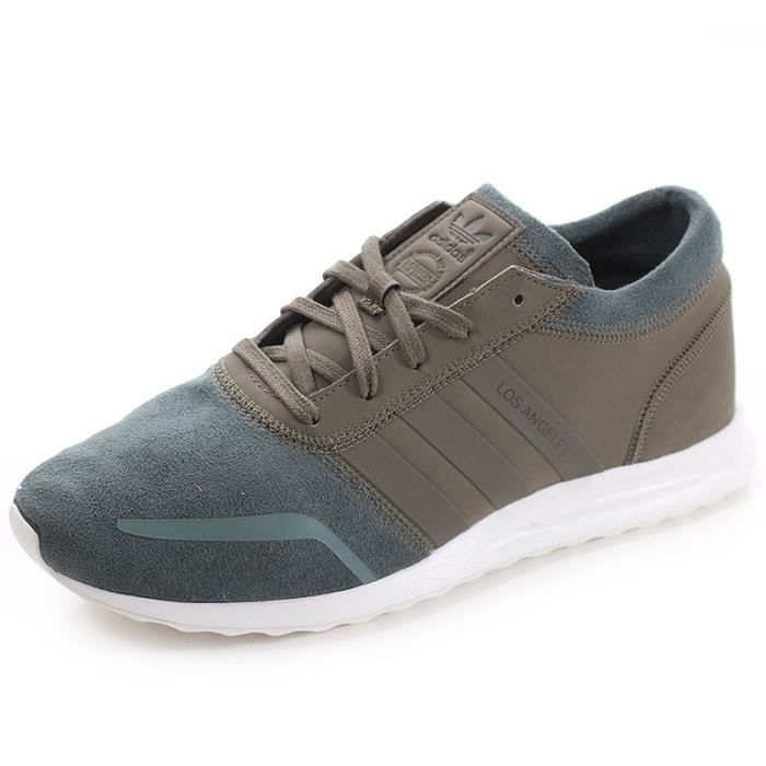 Los Angeles Achat Marron Adidas Homme Chaussures bmy76gfvIY