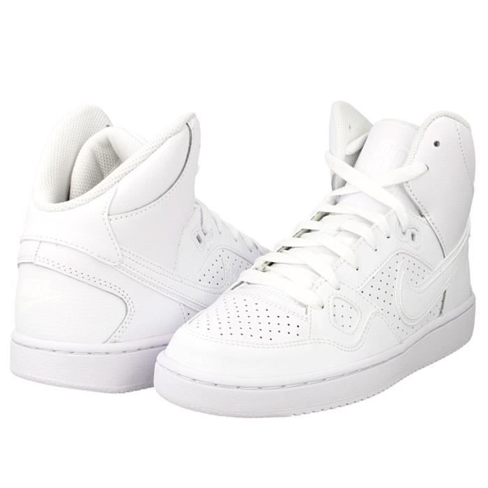 basket nike blanche force mid