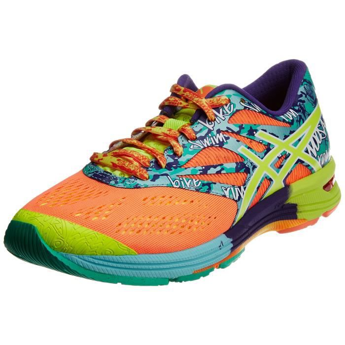 Shoe Flash Triathlon M And 10 Tri CoralYellow Mesh Noosa Gel 1vpe6l Shoes Taille Blue Asics Women's Running Ice PXONn0kw8