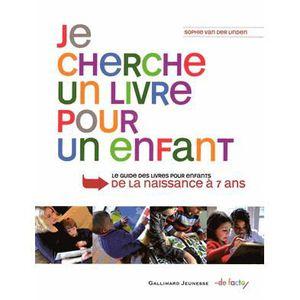 Livre 3-6 ANS Je cherche un livre pour un enfant