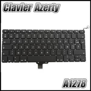 CLAVIER D'ORDINATEUR Clavier pour Apple macbook pro 13' AZERTY A1278 un