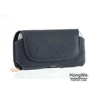 HOUSSE - ÉTUI HLMonkey® Etui Ceinture Cuir Noir pour Galaxy S3 ( 49810b30fce