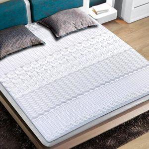 SUR-MATELAS Surmatelas à mémoire de forme 140 x 190 cm - Blanc