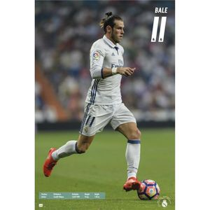 AFFICHE - POSTER Maxi Poster Real Madrid 2016/2017 Bale