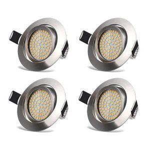 SPOTS - LIGNE DE SPOTS Spots LED Encastrable Orientable 3.5W Ultraslim Pl