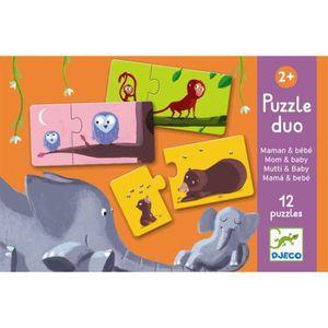 PUZZLE Puzzle Duo maman et bébé