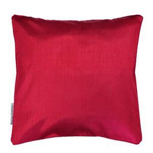Housse de coussin rouge 40 x 40 cm   Achat / Vente pas cher