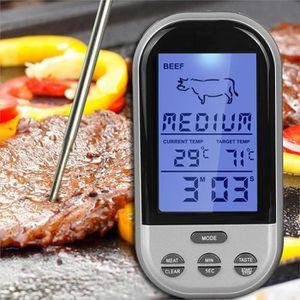THERMOMÈTRE DE CUISINE TS-BN52 Thermomètre Alimentaire sans Fil Numérique