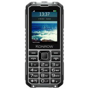 Téléphone portable Konrow Stone Pro - Téléphone Antichoc Certifié IP6