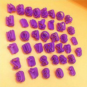 EMPORTE-PIÈCE  33pcs Emporte Pièce Lettres Alphabet Nombre Découp