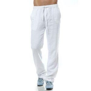 Pantalons hommes 100% lin étépantalon 5 couleur haute qualité ... fef991b4e9d0