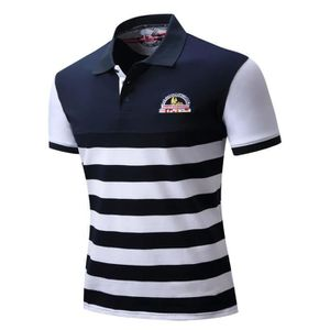 POLO Mode Homme Polo Manches Courtes Coupe Slim Fit A M 8eb90b84dcc9