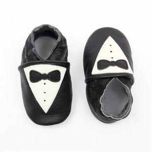 CHAUSSON - PANTOUFLE Chaussons Bébé Cuir Souple Chaussures Premiers Mon