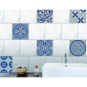stickers muraux salle de bain carreau 15x15 achat vente pas cher. Black Bedroom Furniture Sets. Home Design Ideas