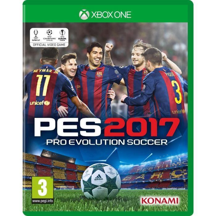 PES 2017 Jeu Xbox One