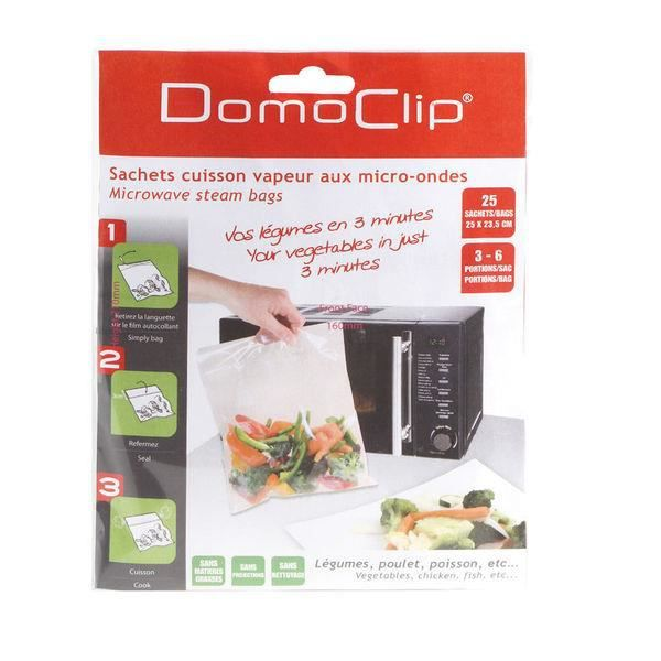 DOMOCLIP 25 blisters micro-ondes + clipstrip