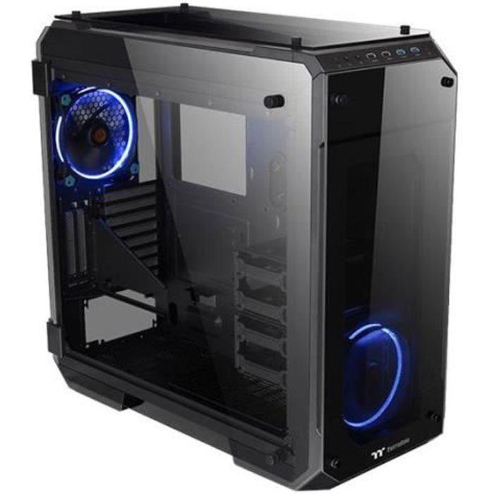 THERMALTAKE Boîtier PC View 71 TG - Noir / Bleu