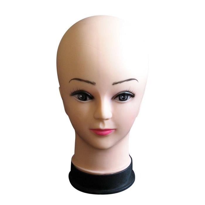 Mannequin Head Hat Chapeau d'affichage Perruque