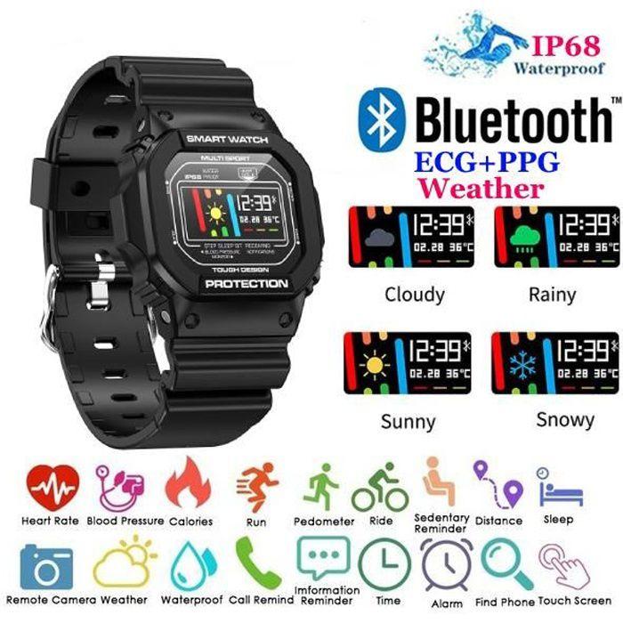 MONTRE CONNECTÉE Montre Connectée Bluetooth Smartwatch Etanche IP68