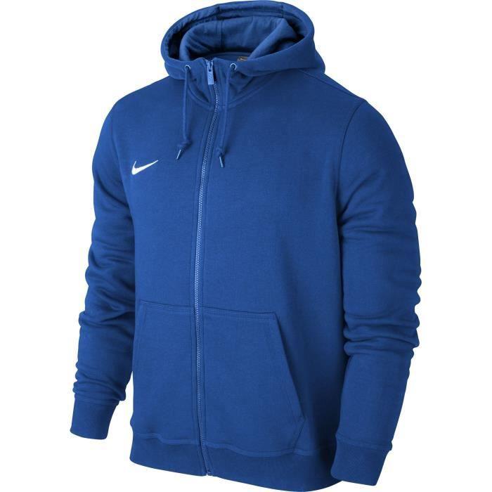 Club Hoody Nike Team Zippé À Sweat Capuche Homme Clair Bleu YqYXw