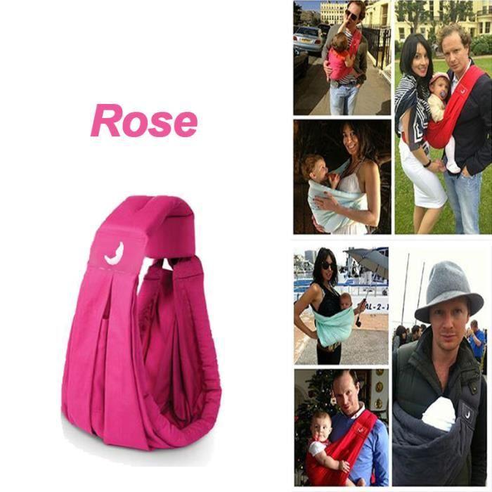Sac à bébé- Porte Bébé Multifionction – hamac portable rose - Achat ... c3e0d07a462
