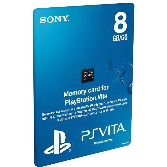 CARTE MÉMOIRE CONSOLE CARTE MEMOIRE 8 Go / Accessoire console PS Vita