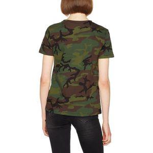 VANS Old Skool T shirt Camo 1TAF4E Taille 34