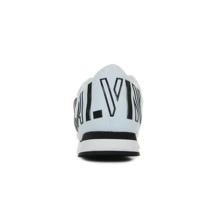 Baskets Calvin Klein Jabre Mesh Blanc - Noir w8Fkh