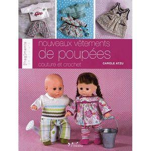 LIVRE LOISIRS CRÉATIFS Nouveaux vêtements de poupées