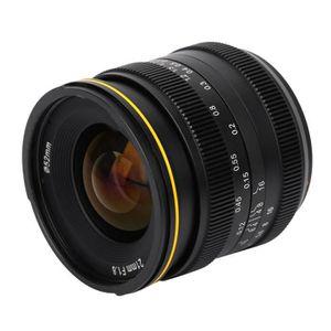 OBJECTIF Kamlan 21mm F1.8 objectif à focale fixe Manual Foc