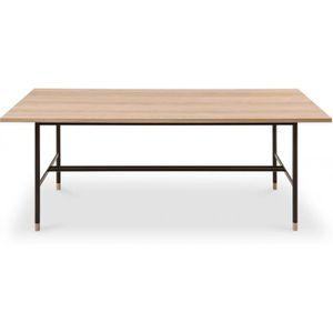table de salle a manger style industriel achat vente. Black Bedroom Furniture Sets. Home Design Ideas