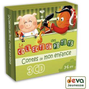 CD COMPTINES - ENFANTS Contes de mon enfance - 3CD Histoires et contes po