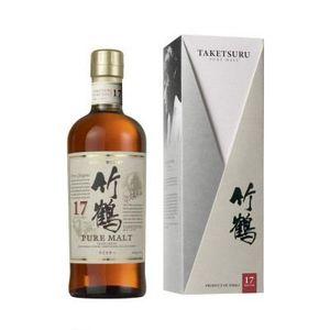 WHISKY BOURBON SCOTCH Bouteille de whisky japonnais Nikka Taketsuru 1…