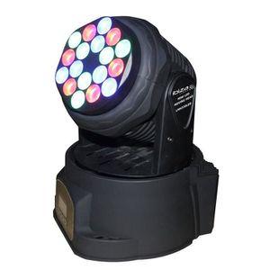 LAMPE ET SPOT DE SCÈNE IBIZA LMH350LED Lampe lyre 7 LED multicolore RVBB