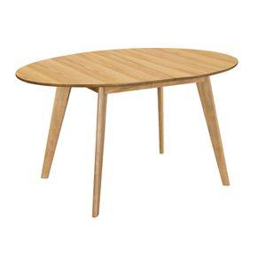 TABLE À MANGER SEULE Miliboo - Table à manger extensible design chêne L