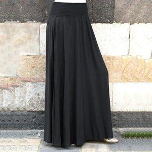 bf151301bdd128 Jupe longue femme noire - Achat / Vente pas cher