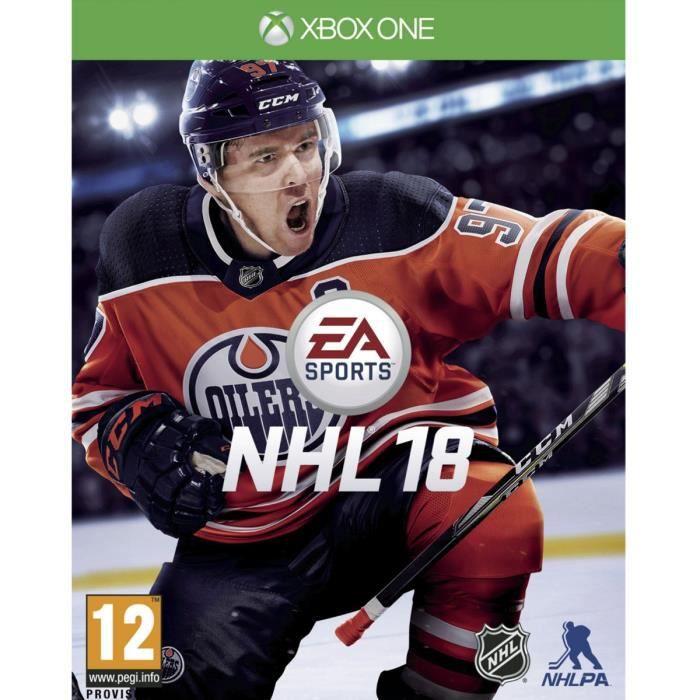 JEUX XBOX ONE NHL 18 Jeu Xbox One