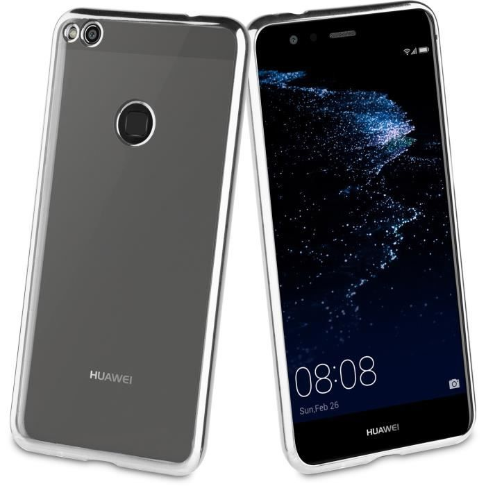 Muvit Life Coque Bling Argent pour Huawei P8 Lite 2017