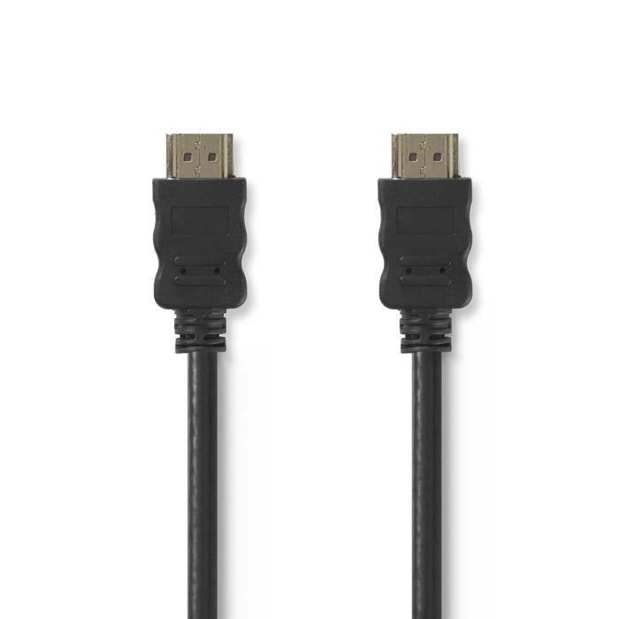 NEDIS CVGP34000BK50 Câble HDMI™ - Haute Vitesse - Noir