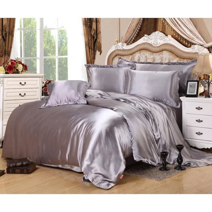 linge de lit soie achat vente linge de lit soie pas. Black Bedroom Furniture Sets. Home Design Ideas