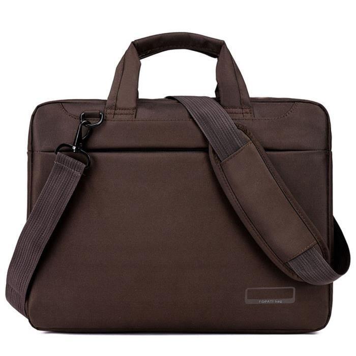 Et Bandoulière Portable Housse Ordinateur Weiqiao® Pochette Imperméable Gris Sac Pour Macbook Sacoche 15 À 6