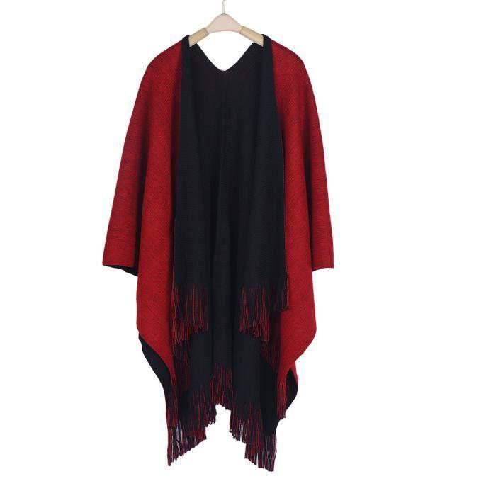 Cardigans Les D'hiver Comforca90 Manteau Poncho Femmes Cachemire Tricoté En Pull Capes Châle OOqrgw8xZ