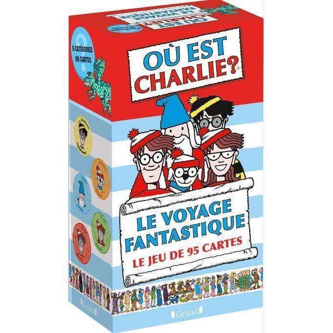 Livre Ou Est Charlie Le Voyage Fantastique Le Jeu De 95 Cartes