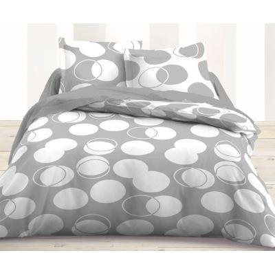 housse de couette et taie d 39 oreiller rond achat vente housse de couette soldes d s le 27. Black Bedroom Furniture Sets. Home Design Ideas