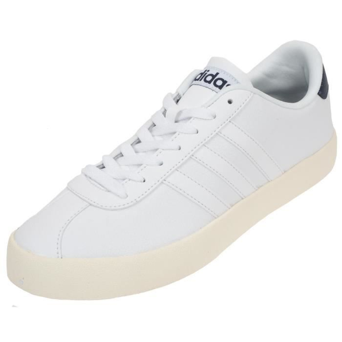 Chaussures mode ville Vlcourt h blc vintage - Adidas neo